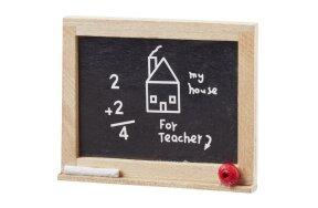 MINI SCHOOL BLACKBOARD  44x37mm SET/2